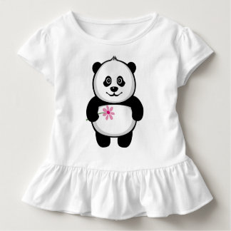 Cute Baby Panda Toddler T-shirt