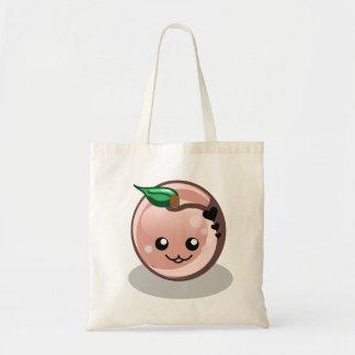 Cute Baby Peach Tote Bag
