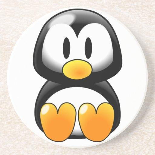 Cute Baby Penguin - Customizeable Coaster