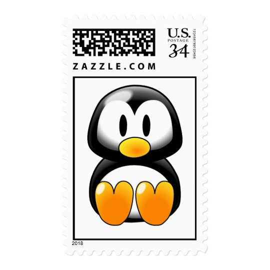 Cute Baby Penguin - Customizeable Postage