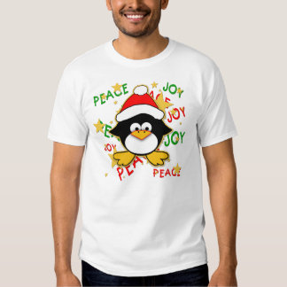 Cute Baby Penguin Holiday T shirt