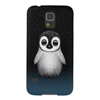 Cute Baby Penguin with Stars Galaxy S5 Covers