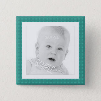 Cute Baby Personalized Instagram Photo Button