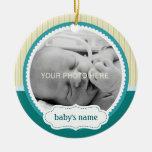 Cute Baby Photo Ornament