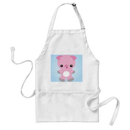 Cute Baby Pig apron