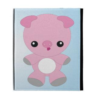 Cute Baby Pig iPad case