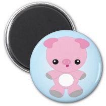 Cute Baby Pig magnet