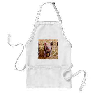 Cute Baby Piglet Farm Animals Babies Adult Apron