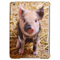 Cute Baby Piglet Farm Animals Babies Case For iPad Air