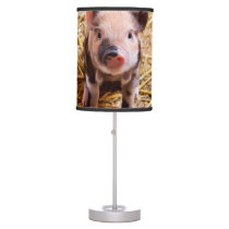 Cute Baby Piglet Farm Animals Babies Desk Lamp