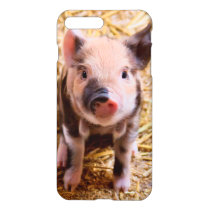 Cute Baby Piglet Farm Animals Babies iPhone 8 Plus/7 Plus Case