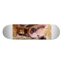 Cute Baby Piglet Farm Animals Babies Skateboard