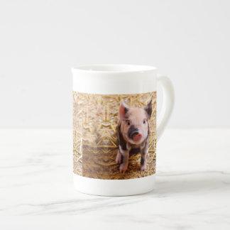 Cute Baby Piglet Farm Animals Babies Tea Cup