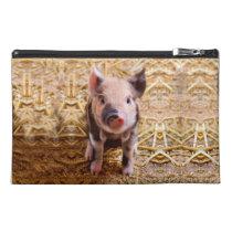 Cute Baby Piglet Farm Animals Babies Travel Accessory Bag