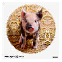 Cute Baby Piglet Farm Animals Babies Wall Sticker