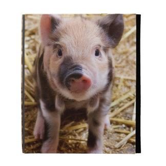 Cute Baby Piglet Farm Animals Barnyard Babies iPad Folio Cases