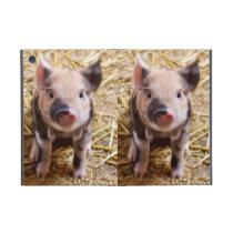 Cute Baby Piglet Farm Animals Barnyard Babies iPad Mini Covers
