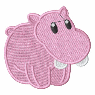 Cute Baby Pink Hippo