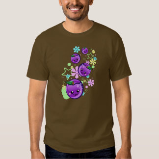 Cute Baby Plums with Flowers and Stars - Hoodie