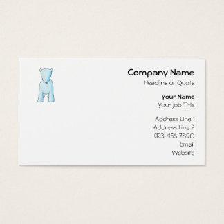 Cute Baby Polar Bear. Business Card