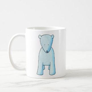 Cute Baby Polar Bear. Coffee Mug