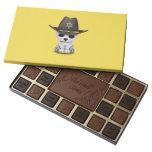 Cute Baby Polar Bear Cub Sheriff Assorted Chocolates