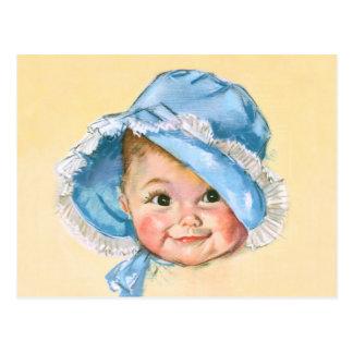 Cute Baby Portrait Postcard