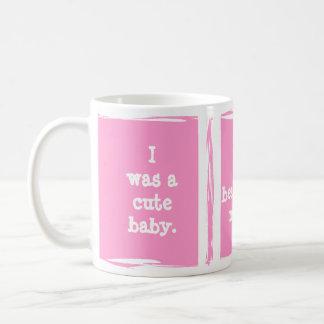 Cute baby progression. Customize yourself! Classic White Coffee Mug
