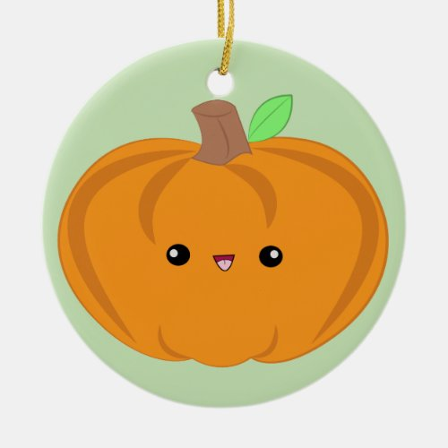 Cute Baby Pumpkin ornament