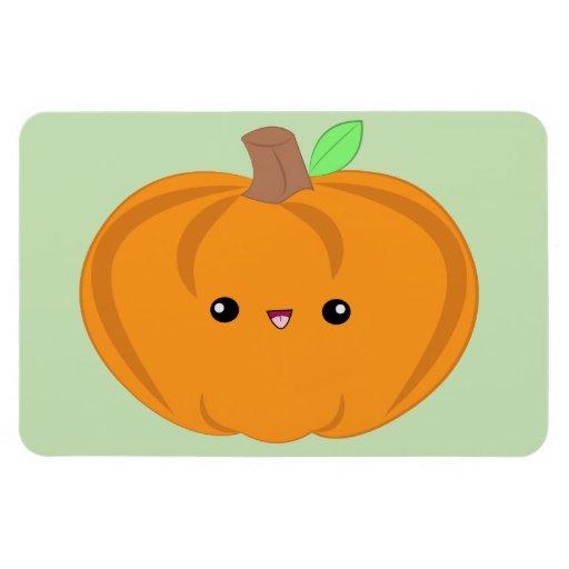 Cute Baby Pumpkin Rectangular Magnet