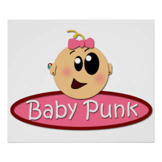 Cute Baby Punk poster