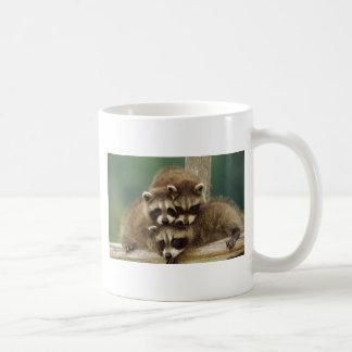 Cute Baby Raccoon Coffee Mug