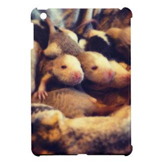 Cute baby rat photo design cover for the iPad mini