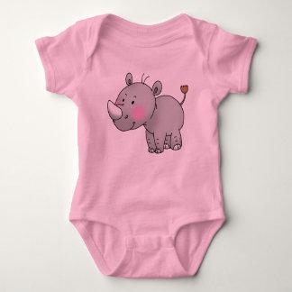 cute baby rhino tee shirt