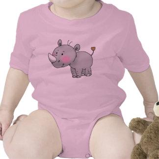 cute baby rhino t-shirts