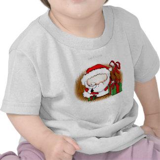 Cute Baby Santa Looking T Shirt