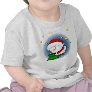 Cute Baby Santa Presents Tee Shirts