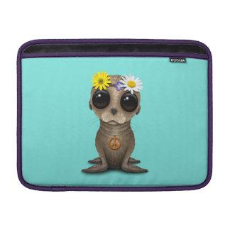 Cute Baby Sea Lion Hippie MacBook Air Sleeve