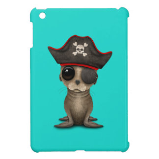 Cute Baby Sea lion Pirate Case For The iPad Mini