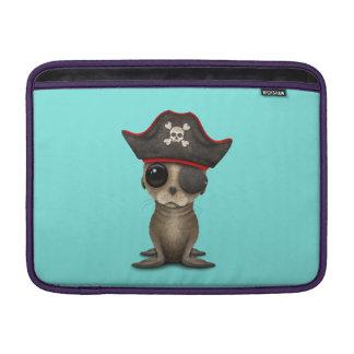 Cute Baby Sea lion Pirate MacBook Air Sleeve
