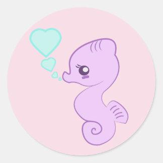 Cute Baby Seahorse Stickers