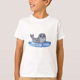 Cute baby seal cartoon kids shirt