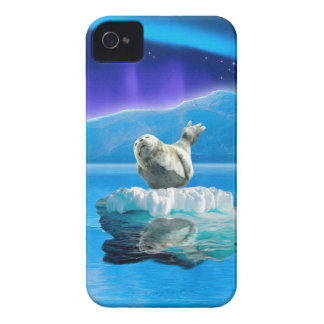 Cute Baby Seal Fantasy Art Wildlife Supporter iPhone 4 Case