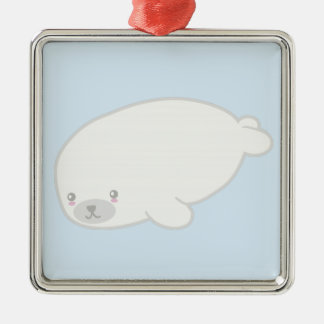 Cute Baby Seal Christmas Ornament