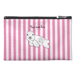 Cute baby seal pup travel accessories bags