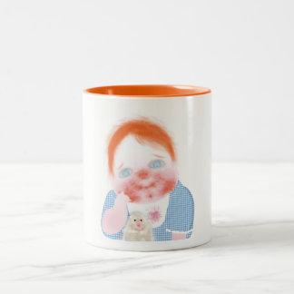 Cute baby service table mug by ORDesigns.