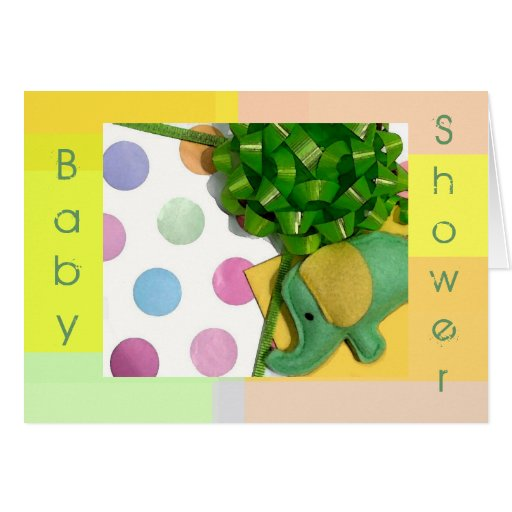 cute baby shower invitation greeting card zazzle