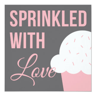 Cute Baby Shower | Sprinkled With Love Card
