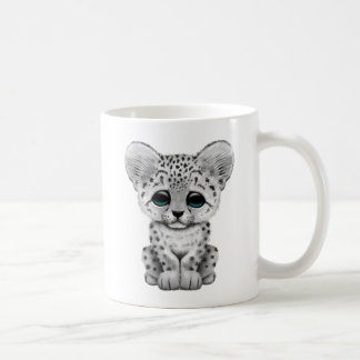 Cute Baby Snow Leopard Cub Coffee Mug