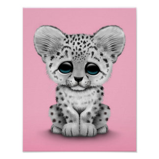 Cute baby snow leopard cubs - photo#22